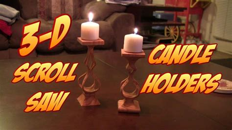 cool   scroll  candle holders  pattern