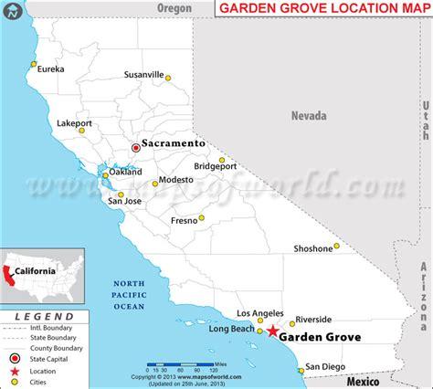 Garden Grove Ca City Boundary Where Is Garden Grove California