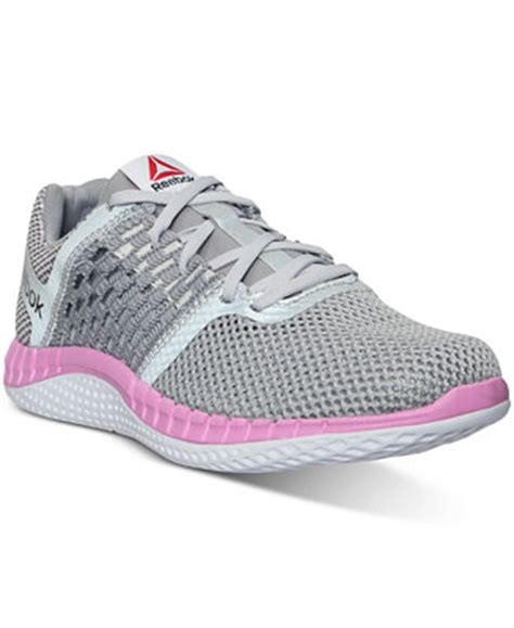 macys athletic shoes reebok s zprint running sneakers from finish line