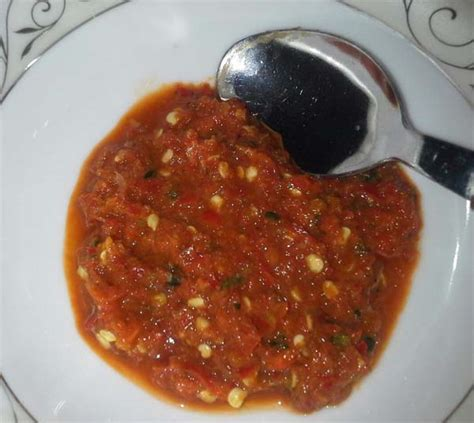 kalori sambal belacan