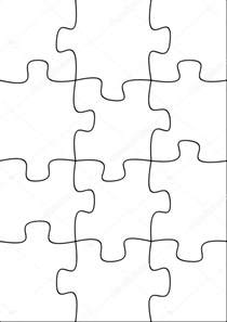 search results for 12 piece blank puzzle template