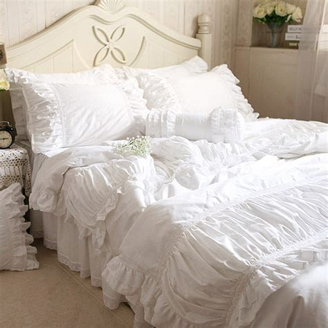 white lace bedding lace bedding set