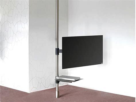 mobili porta tv mediaworld mobile tv orientabile in acciaio 129 mobile tv