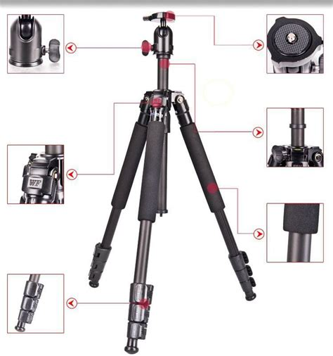 Tripod Fancier professional fancier dv digital slr light portable tripod photographic equipment traveler