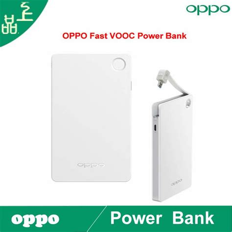Power Bank Oppo Ori original oppo 6000 mah vooc fast power bank apply to find 7 v201 phone fast charger layers