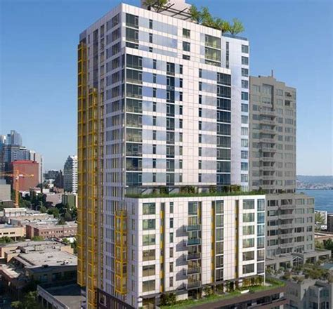Apartment Builders Seattle Wood Partners Puts Popular Downtown Seattle High Rise