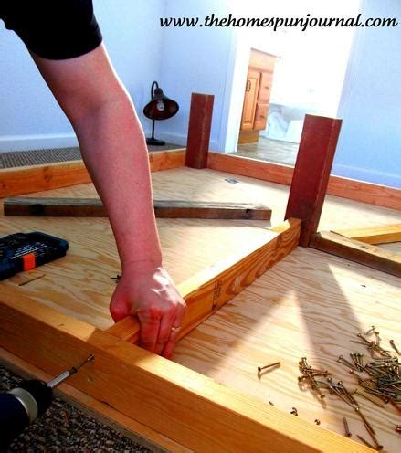 diy king size platform bed how to make a platform bed with storage drawers diy
