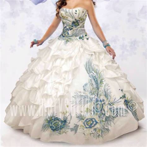 peacock themed quinceanera dresses beautiful peacock quince dress i wonder if my baby girl