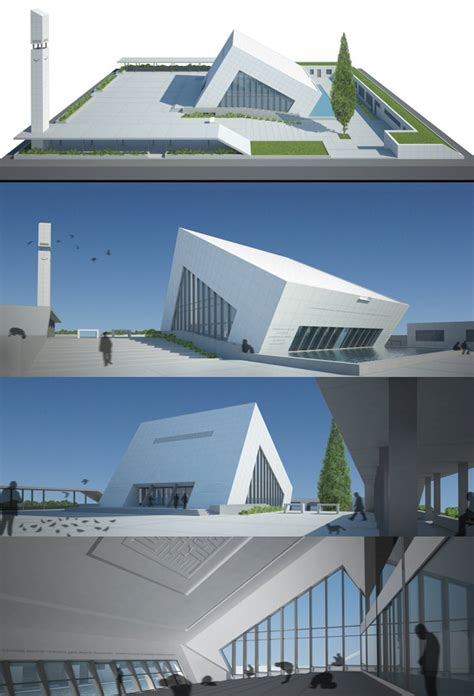 masjid architecture design contemporary modern mosque