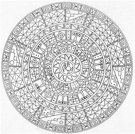 coloring pages adults mandala printable mandalas for adults