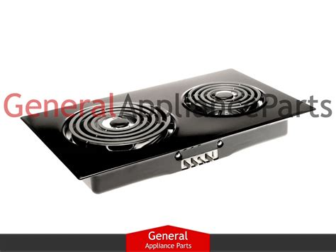 Jenn Air Expressions Cooktop jenn air expressions collection cooktop black electric coil cartridge ac110b ebay