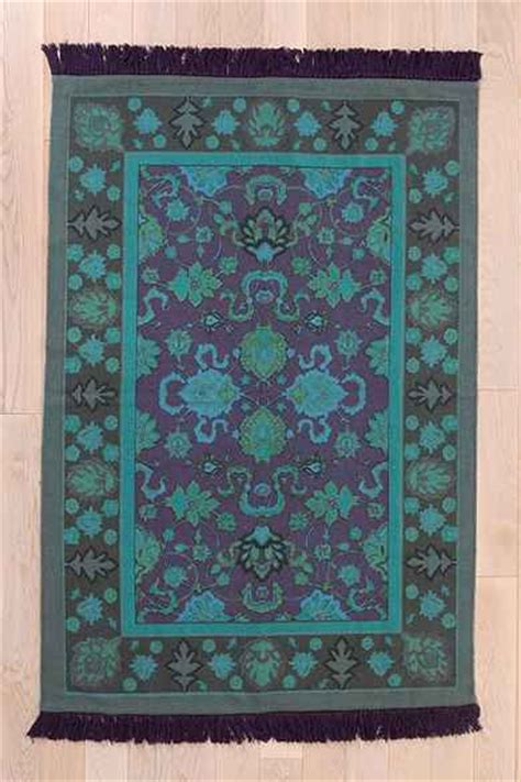 magical thinking overdyed handmade rug