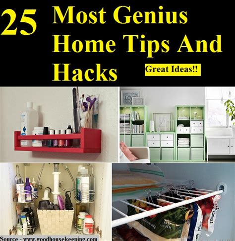 home genius 25 most genius home tips and hacks home and life tips
