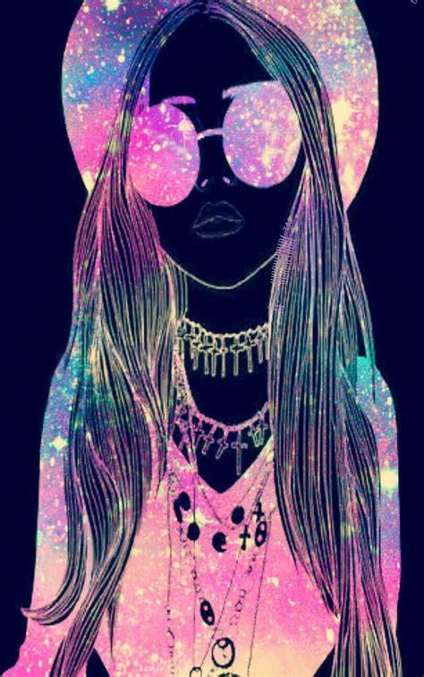 imagenes galaxy hipsters quot hipster girl quot galaxy wallpaper fondos de pantalla