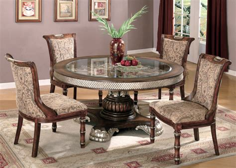 Dining Room Inspiring Elegant Round Dining Room Sets How To Set A Dining Room Table