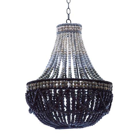 wooden bead chandelier contemporary wooden bead chandelier pfeifer studio