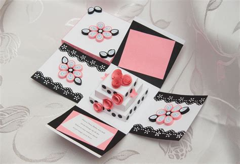 How To Make Explosion Box Handmade Birthday Card - wedding exploding box quilling by daria86 on deviantart