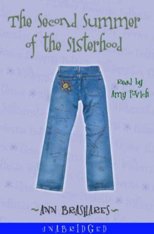 need to sisterhood books second summer of the sisterhood sisterhood of the