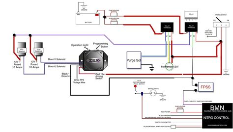 nitrous solenoid wiring diagram circuit diagram maker
