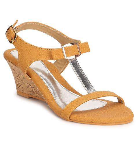 yellow heeled sandals lavie yellow heeled sandals price in india buy lavie