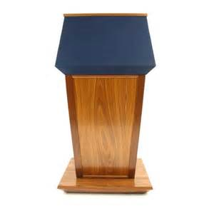 Abc Vaccum Executive Wood Solid Wood Presidential Podium Lectern