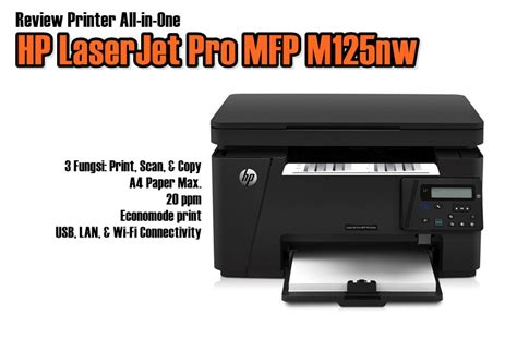 Printer Murah All In One review printer hp laserjet pro mfp m125nw all in one