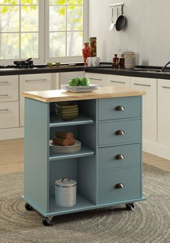 new natural large kitchen island cart utility butcher oliver and smith nashville collection mobile kitchen