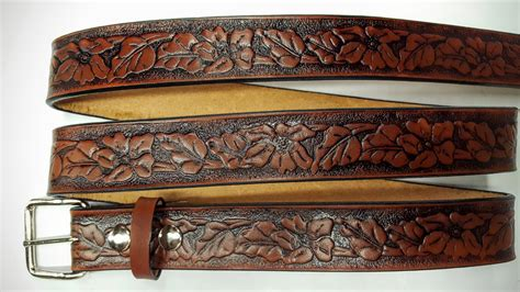 Handmade Leather Goods Usa - leather belts usa lbu all 100 genuine solid leather