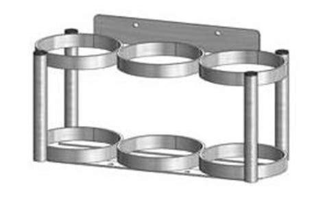 Cylinder Racks by De 3 Inline Oxygen Cylinder Rack Free Shipping