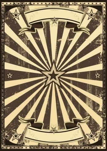 vaudeville poster template blank vintage poster template world of label