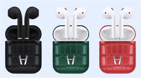alligator leather  hadoro airpods  luxurious