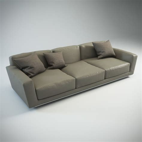 model on couch 3d couch models max 3ds obj fbx c4d