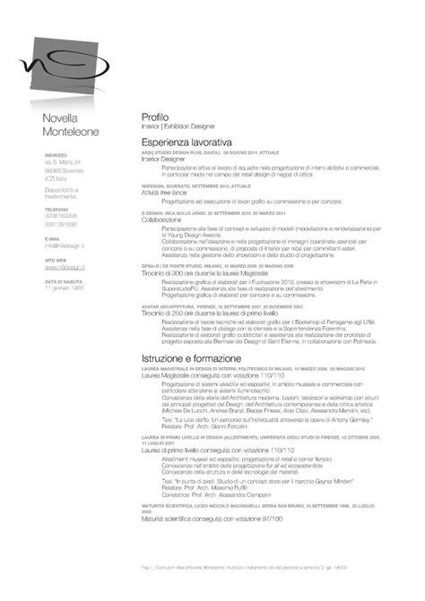 Modelo Curriculum Vitae Italia Modelo De Curriculum Vitae Italia Modelo De Curriculum Vitae