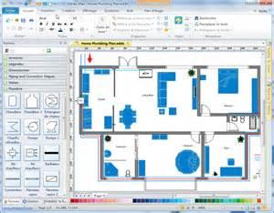 Evacuation Floor Plan logiciel de plan de plomberie et de tuyauterie