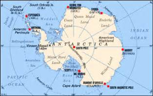 World Map Antarctica by Pics Photos Antarctica Maps Continent And World Region