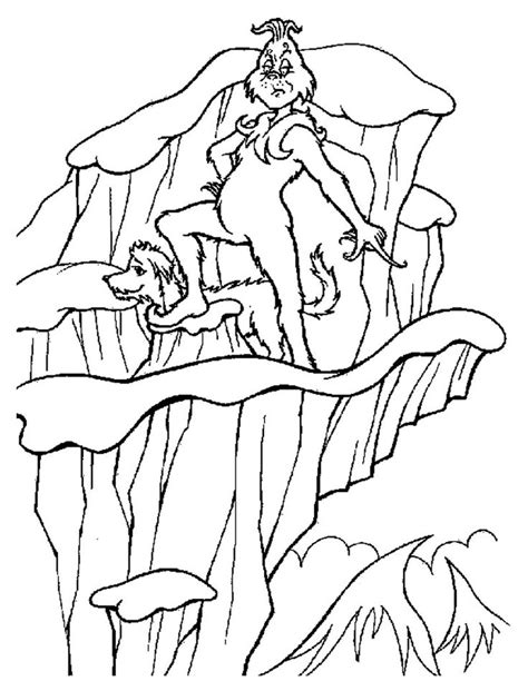 17 Images About Dr Seuss Coloring Sheets On Pinterest Grinch Tree Coloring Page