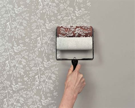 patterned paint roller the painted house patterned paint rollers flodeau