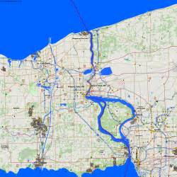 city maps niagara falls