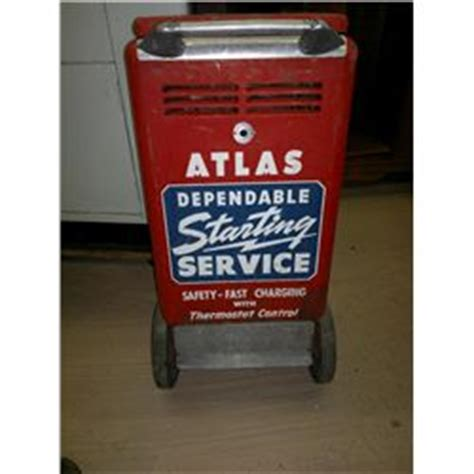 atlas battery charger vintage atlas portable battery charger