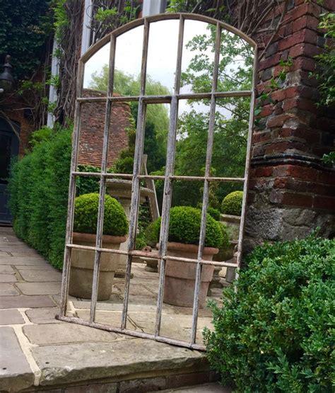 garden wall mirrors 1000 ideas about outdoor mirror on garden