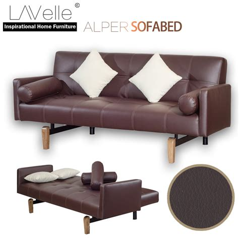 Juicer Alper alper pu sofa bed vintage brown end 1 1 2020 6 44 pm