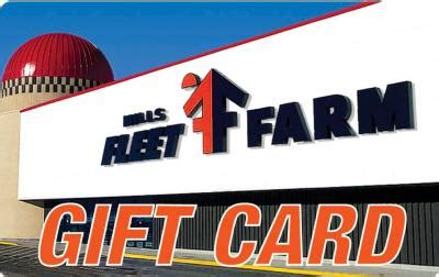 Fleet Farm Gift Cards - if you were given a 500 fleet farm gift card general discussion forum in depth