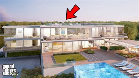 13 million dollar glass home design and floor plan youtube gta 5 real life mod 303 50 million dollar glass mansion