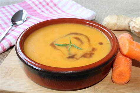 carrot and soup carrot soup with and lemon recipe epicurious