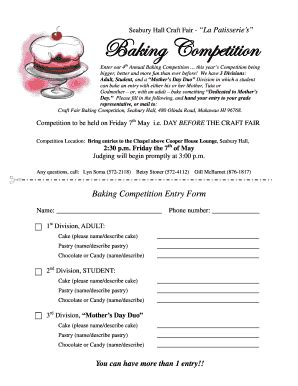 section 35 massachusetts form fillable online seaburyhall baking competition entry form