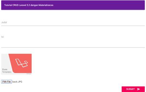 tutorial upload gambar di php tutorial upload gambar foto dengan laravel 5 2 gilacoding