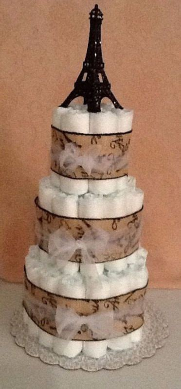 Eiffel Tower Baby Shower Cakes by The World S Catalog Of Ideas