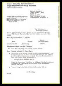 social security award letter sample letter of recommendation