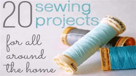 diy home decor sewing projects