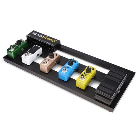 Guitar Pedal donner guitar pedal board db 2 aluminium pedalboard